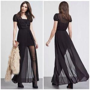 Reformation Sheer Madori Dress